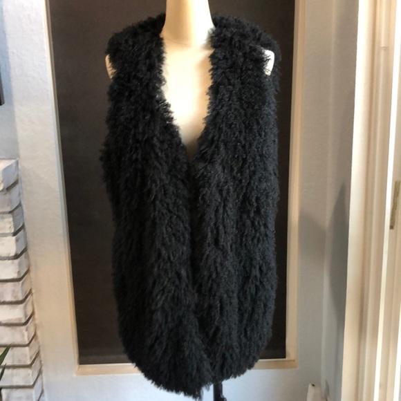 Decree black fussy vest.